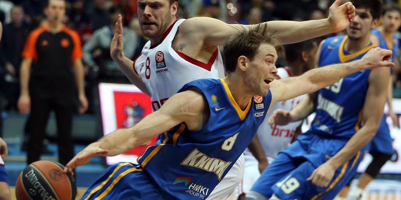 Top 16, Round 4 report: Shved leads Khimki to convincing home win