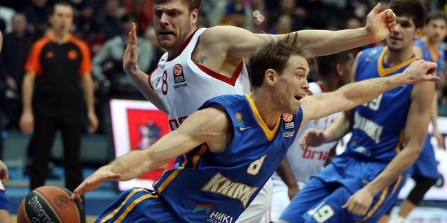 Top 16, Round 4: Khimki Moscow Region vs. Brose Baskets Bamberg