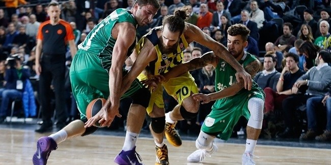 Top 16, Round 4: Darussafaka Dogus Istanbul vs. Fenerbahce Istanbul