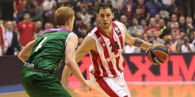 Top 16, Round 4 report: Simonovic's late heroics lift Zvezda past Unicaja