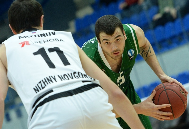 Sava Lesic - Union Olimpija Ljubljana - EC15 (photo Nizhny Novgorod)