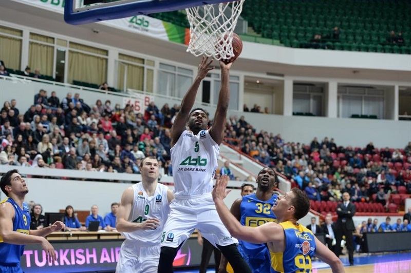 Keith Langford - Unics Kazan - EC15 (photo Unics)