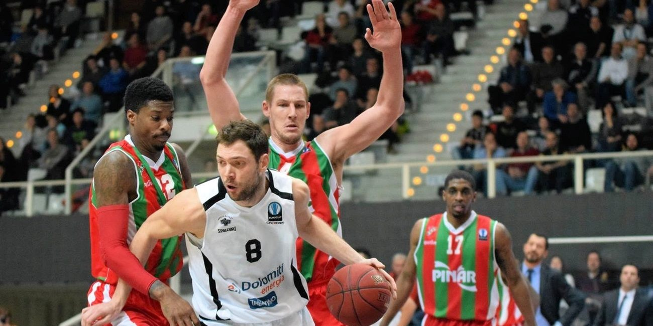 Trento re-signs big man Baldi Rossi