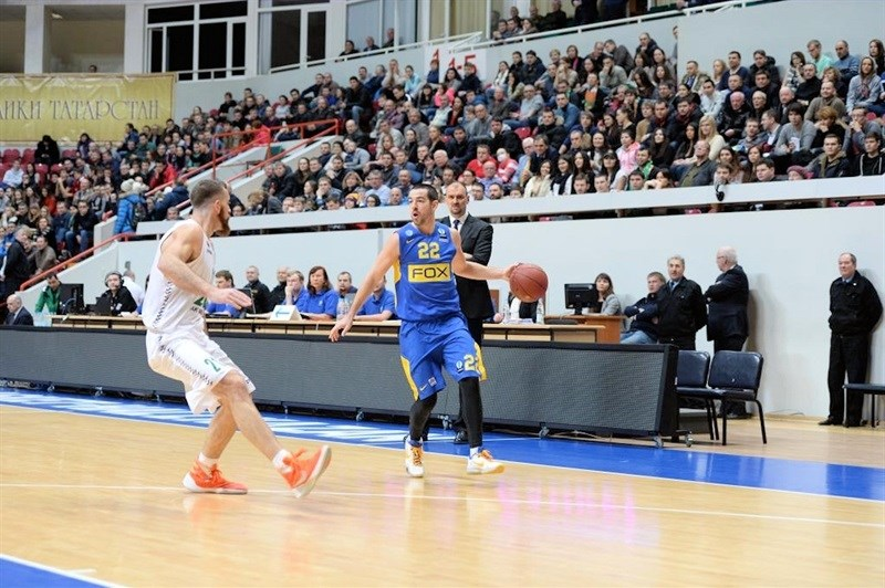 Taylor Rochestie - Maccabi FOX Tel Aviv - EC15 (photo Unics)