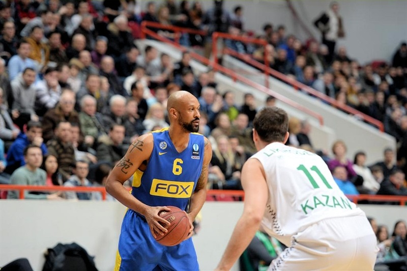 Devin Smith - Maccabi FOX Tel Aviv - EC15 (photo Unics)
