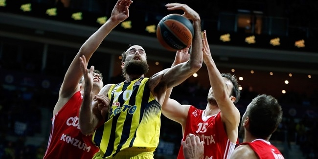 Top 16, Round 5 report: Fenerbahce still perfect in Top 16 after bouncing Cedevita