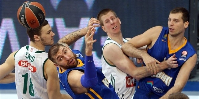 Top 16, Round 5 report: Khimki scores club record 111, Rice has double-double in big win