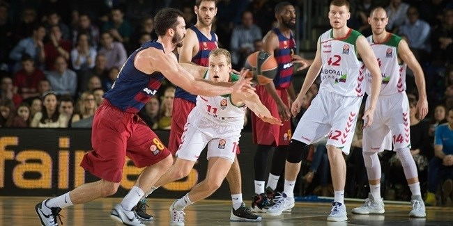 Top 16, Round 5: FC Barcelona Lassa vs. Laboral Kutxa Vitoria