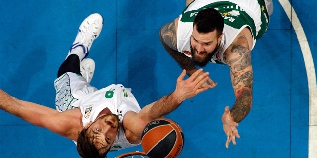 Top 16, Round 5 report: Panathinaikos holds off still-winless Darussafaka