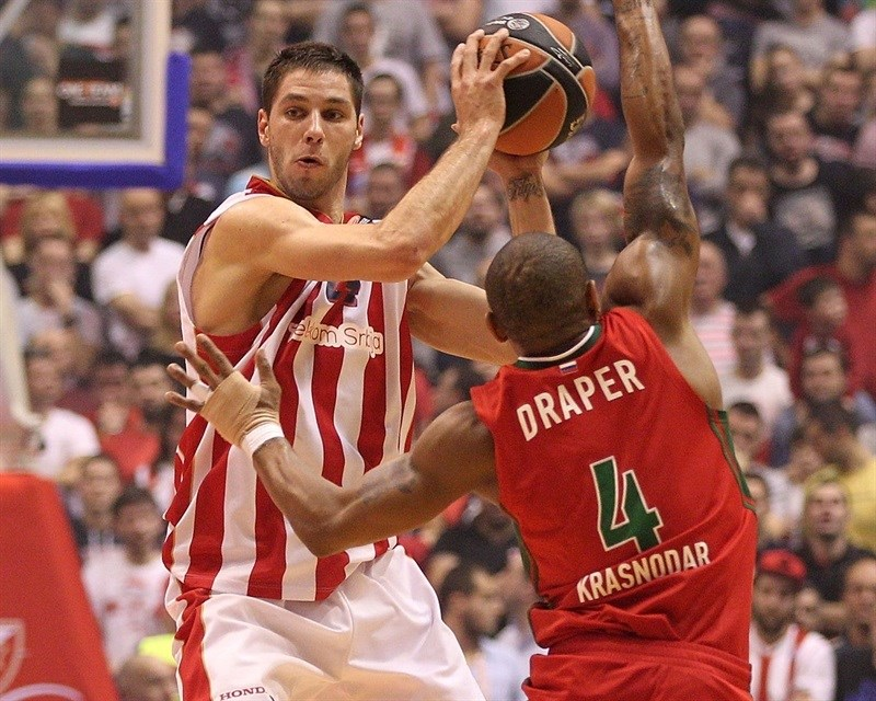 Top 16 Round 5 Crvena Zvezda Vs Lokomotiv Kuban 2015 16 Season Adidas Next Generation Tournament