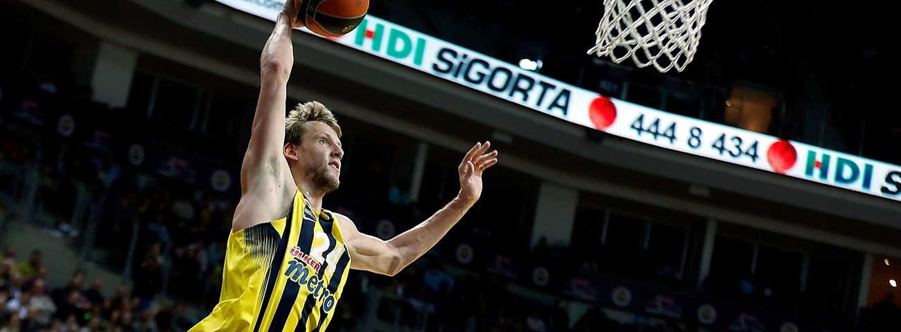 Fenerbahce's Vesely sidelined through playoffs