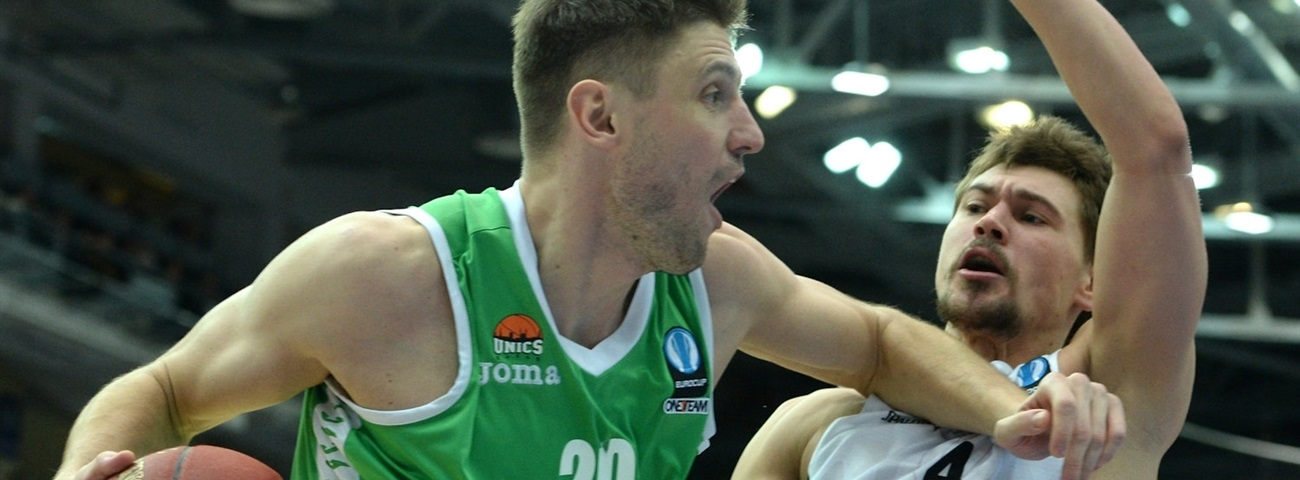 Unics extends big guard Panin