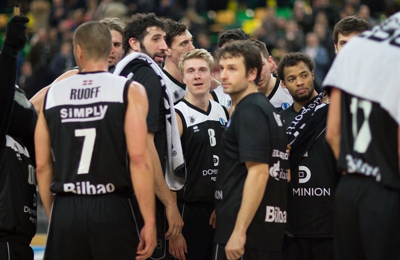 Players Dominion Bilbao Basket - EC15 (photo Bilbao Basket - Aitor Arrizabalaga)
