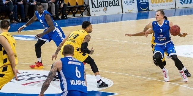 Last 32 Round 5 report: Neptunas rallies late past Aris