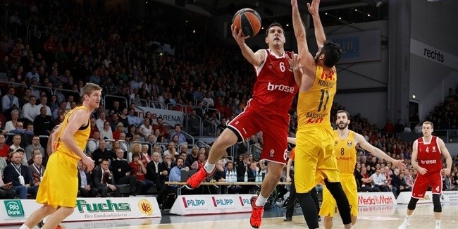 Top 16, Round 6: Brose Baskets Bamberg vs. FC Barcelona Lassa