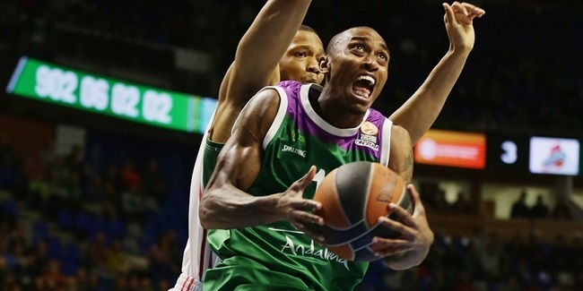Unicaja's Smith out for at least 2 months