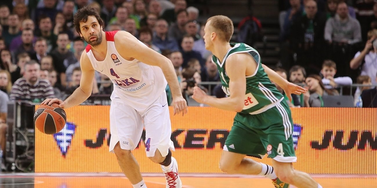 Top 16, Round 6 report: Super guards pave way to CSKA's 16th straight Euroleague win over Zalgiris