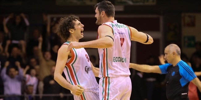 Reggio Emilia loses Lavrinovic to knee injury