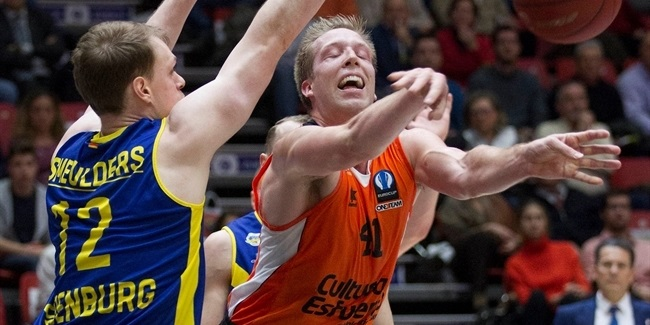 Last 32, Round 6: Valencia Baskets vs. EWE Baskets Oldenburg