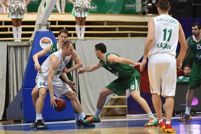 Artsiom Parakhouski - Unics Kazan - EC15 (photo Unics)