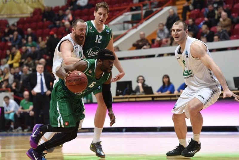 Dawan Robinson - Union Olimpija Ljubljana - EC15 (photo Unics)