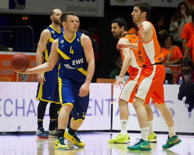 Chris Kramer - EWE Baskets Oldenburg - EC15 (photo Valencia - Miguel Angel Polo)