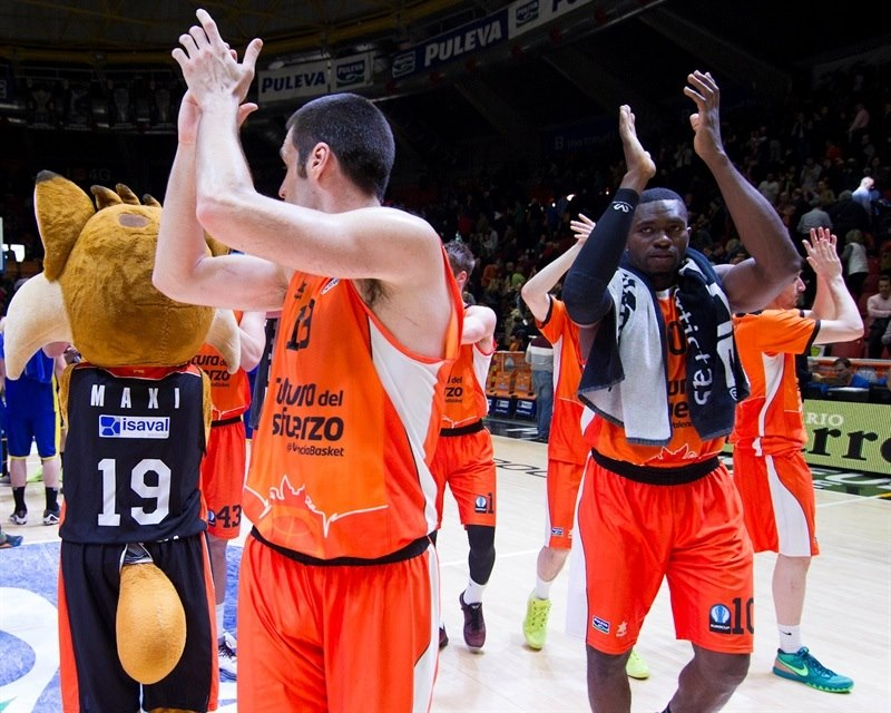 Players Valencia Basket - EC15 (photo Valencia - Miguel Angel Polo)