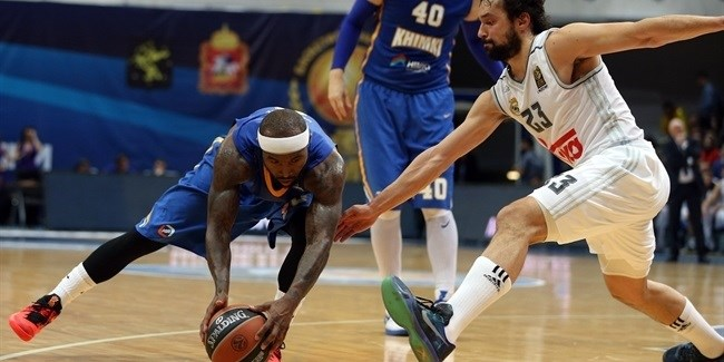 Top 16, Round 7: Khimki Moscow Region vs. Real Madrid