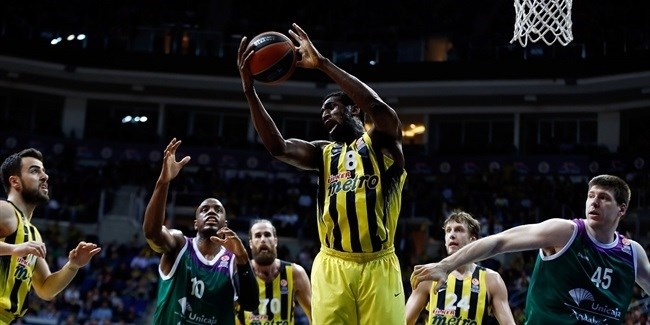 Top 16, Round 7 report: Udoh shines inside as Fenerbahce Istanbul dominates Unicaja