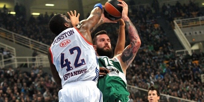 Top 16, Round 7 report: Greens ride Raduljica to victory over Efes