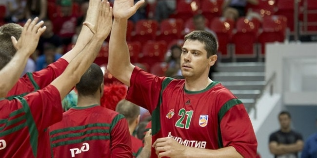 Lokomotiv bolsters frontcourt with Shukhovtcov