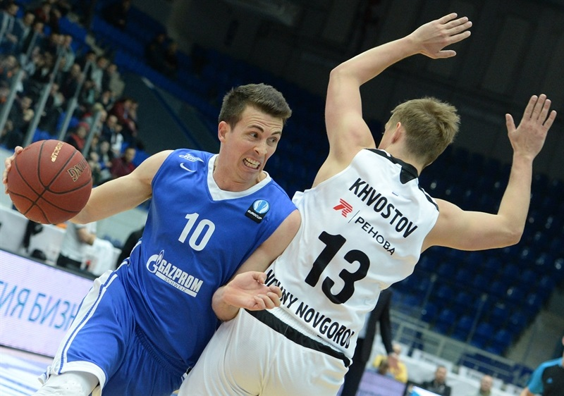 Ryan Toolson - Zenit St Petersburg - EC15 (photo Nizhny Novgorod)