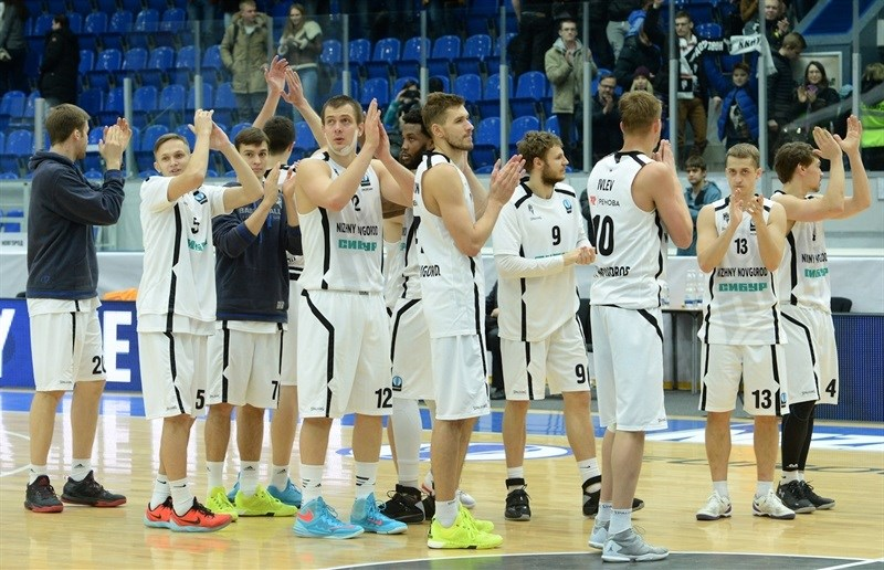 Players Nizhny Novgorod - EC15 (photo Nizhny Novgorod)