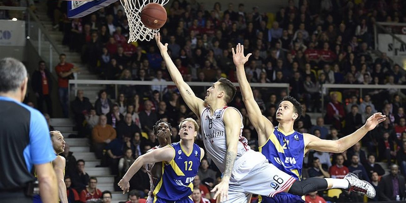 Eighthfinals Game 1 report: EWE Baskets holds off Strasbourg for valuable Game 1 road win