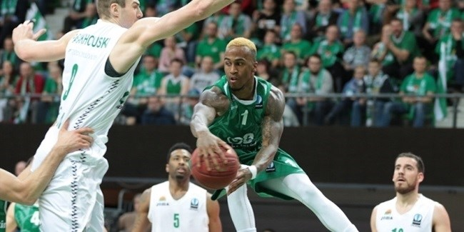 Eighthfinals, Game 1: Stelmet Zielona Gora vs. Unics Kazan