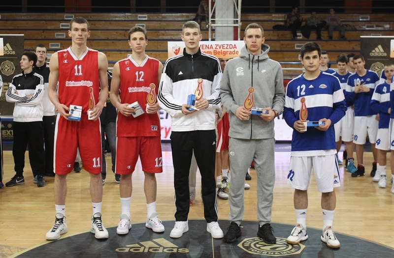 All-Tournament Team - ANGT Belgrade 2016 - JT15