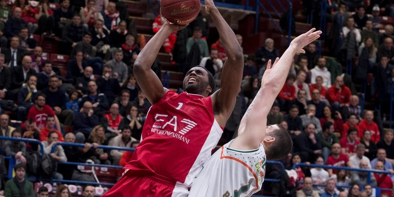 Eighthfinals Game 2 report: EA7 Milan rallied from 12 down, ousts Banvit for a quarterfinal spot
