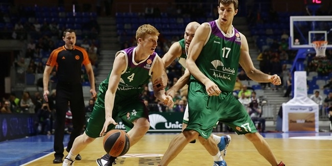 Top 16, Round 9: Unicaja Malaga vs. Panathinaikos Athens