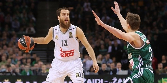 Top 16, Round 10: Zalgiris Kaunas vs. Real Madrid