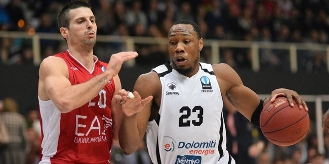Eurocup Quarterfinals, Game 2 MVP: Dominique Sutton, Dolomiti Energia Trento