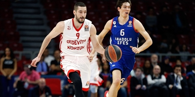 Cedevita re-signs forward Babic