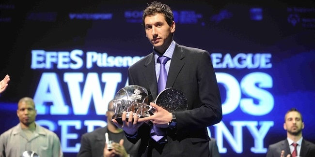 Diamantidis celebrated as Euroleague Basketball Legend