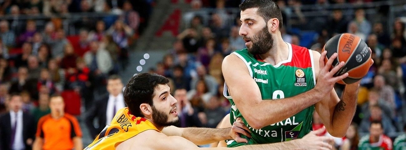 MVP for March: Ioannis Bourousis, Laboral Kutxa Vitoria Gasteiz