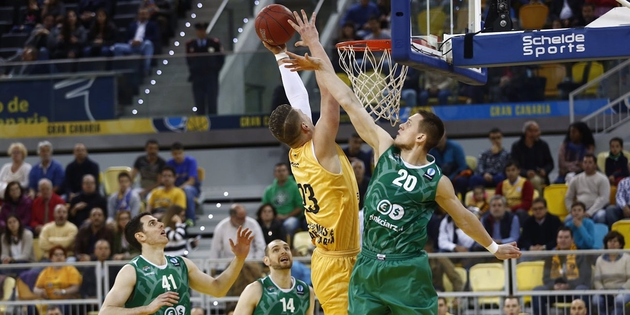 Quarterfinals Game 2 report: Gran Canaria returns to the Eurocup semifinals