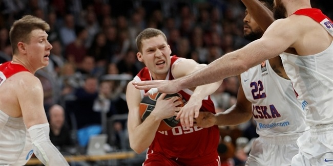 Top 16, Round 12: Brose Baskets Bamberg vs. CSKA Moscow