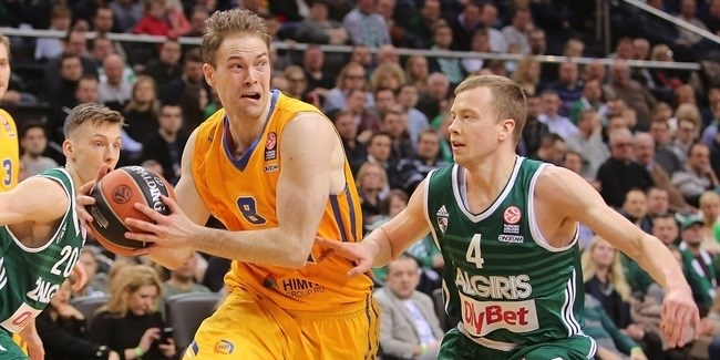 Top 16, Round 12 report: Honeycutt leads Khimki to road win in Kaunas