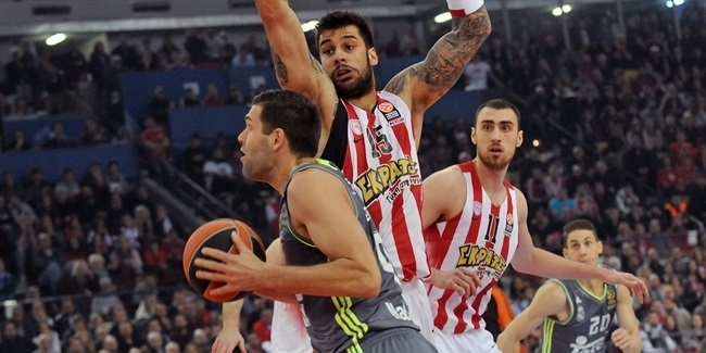 Top 16, Round 12: Olympiacos Piraeus vs. Real Madrid