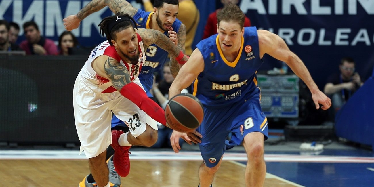 Top 16, Round 13 report: Khimki torches Olympiacos in pivotal game
