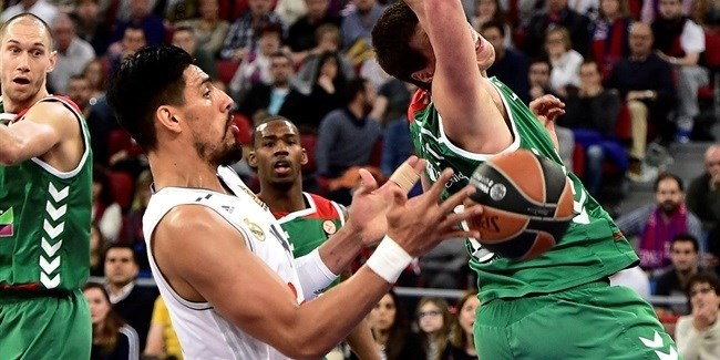 Top 16, Round 13: Laboral Kutxa Vitoria Gasteiz vs. Real Madrid