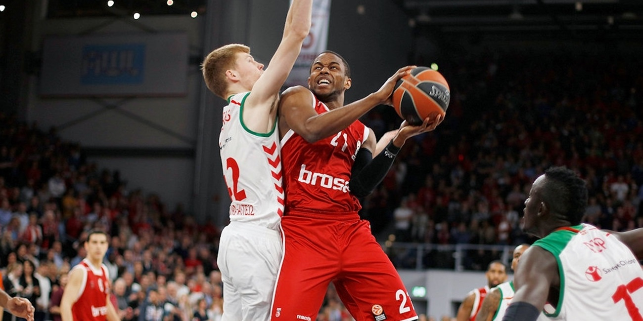 Top 16, Round 14 report: Brose Baskets goes out with victory over Laboral